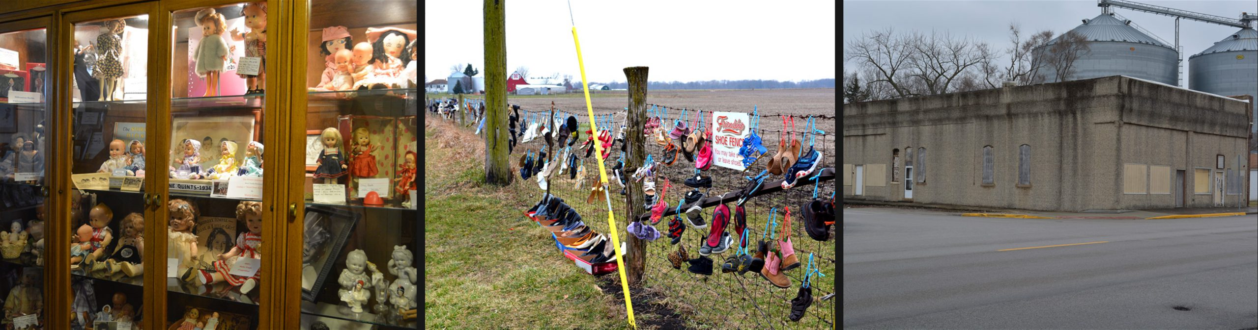 Cornell Illinois Attractions: Amity Township Museum, Friendship Shoe Fence, and Community Building