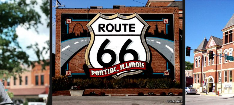 Pontiac Illinois Attractions: Abraham Lincoln Statue, Route 66 Mural, Historic Route 66 Museum